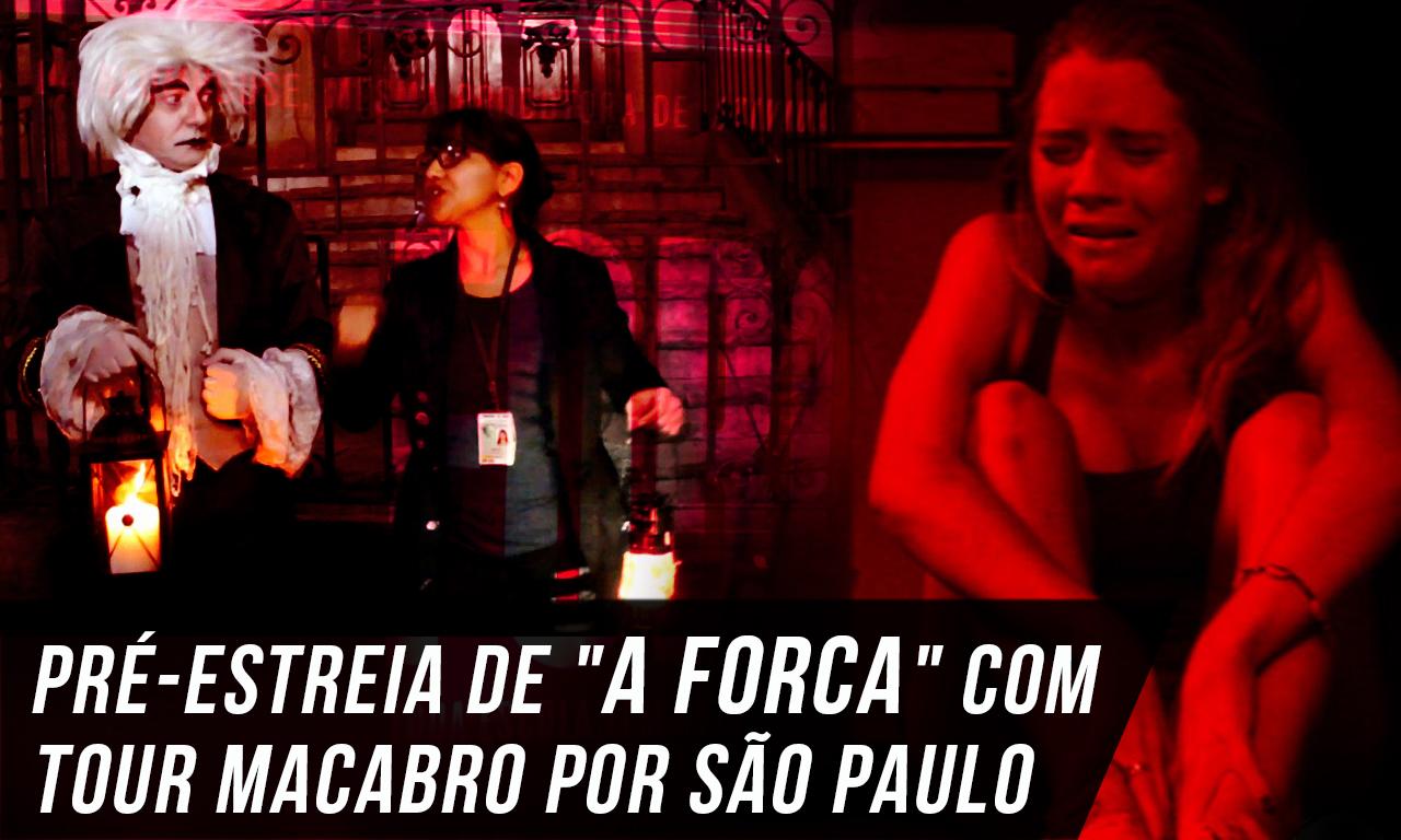 """Pré-estreia de """"A Forca"""" (The Gallows) com tour"""