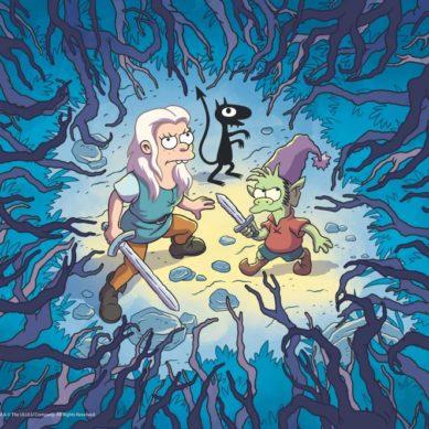 'Disenchantment' princesa, elfo e um diabo na Netflix