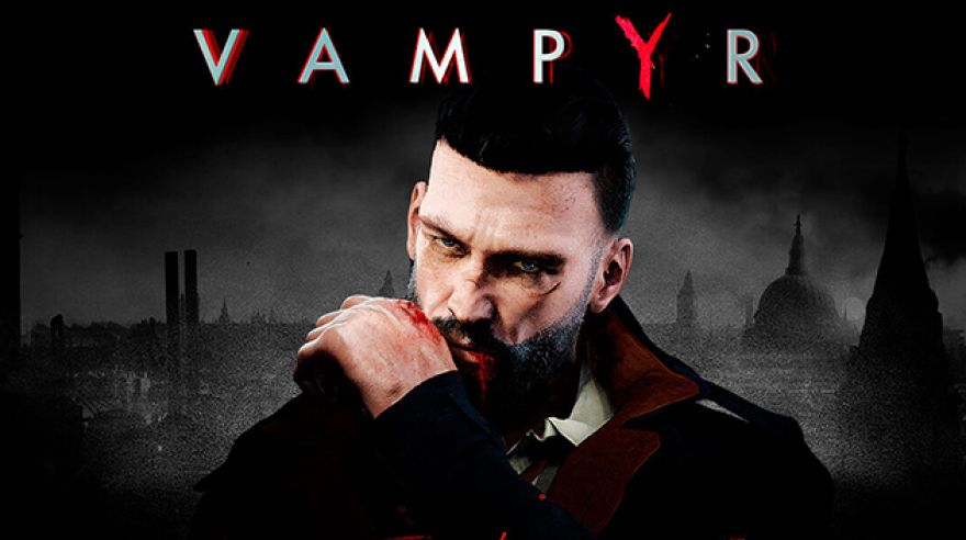 Poster Game Vampyr Focus-Home-Interactive