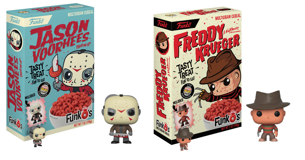 Funko Cereal Freddy Jason