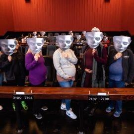 Cinema recebe futuras mamães para assistir 'Maligno' filme sobre um filho encapetado