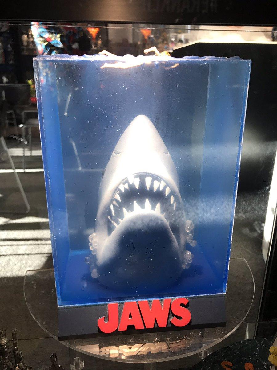 poster 3D Tubarão