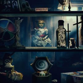 Primeiro trailer de Annabelle 3 revela diversos itens do museu do casal Warren