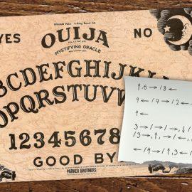 Recebemos um e-mail estranho. Você consegue revelar a mensagem no Ouija?