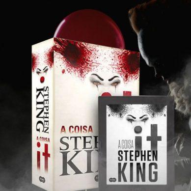 Quer conseguir ler o livro 'IT A Coisa' antes do filme?