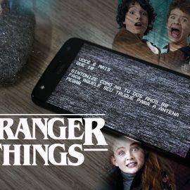 "Testamos o aplicativo 'Stranger Antenna' da Netflix – ""É REAL!"""