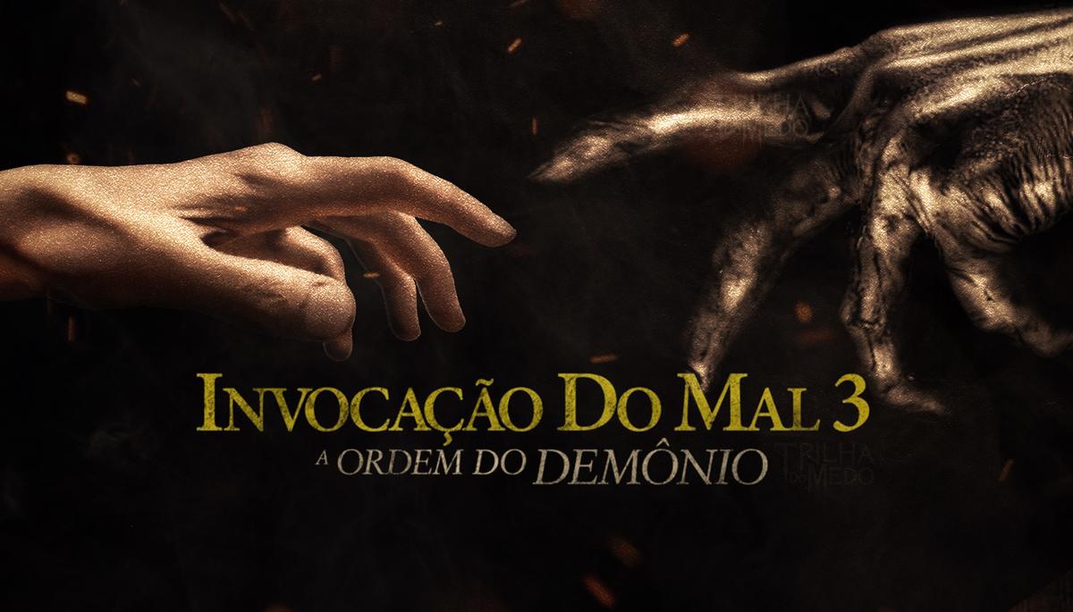 """Tudo Sobre """"Invocação do Mal 3"""" - Sinopse, Elenco e Imagens the conjuring 3 the devil made me do it poster"""