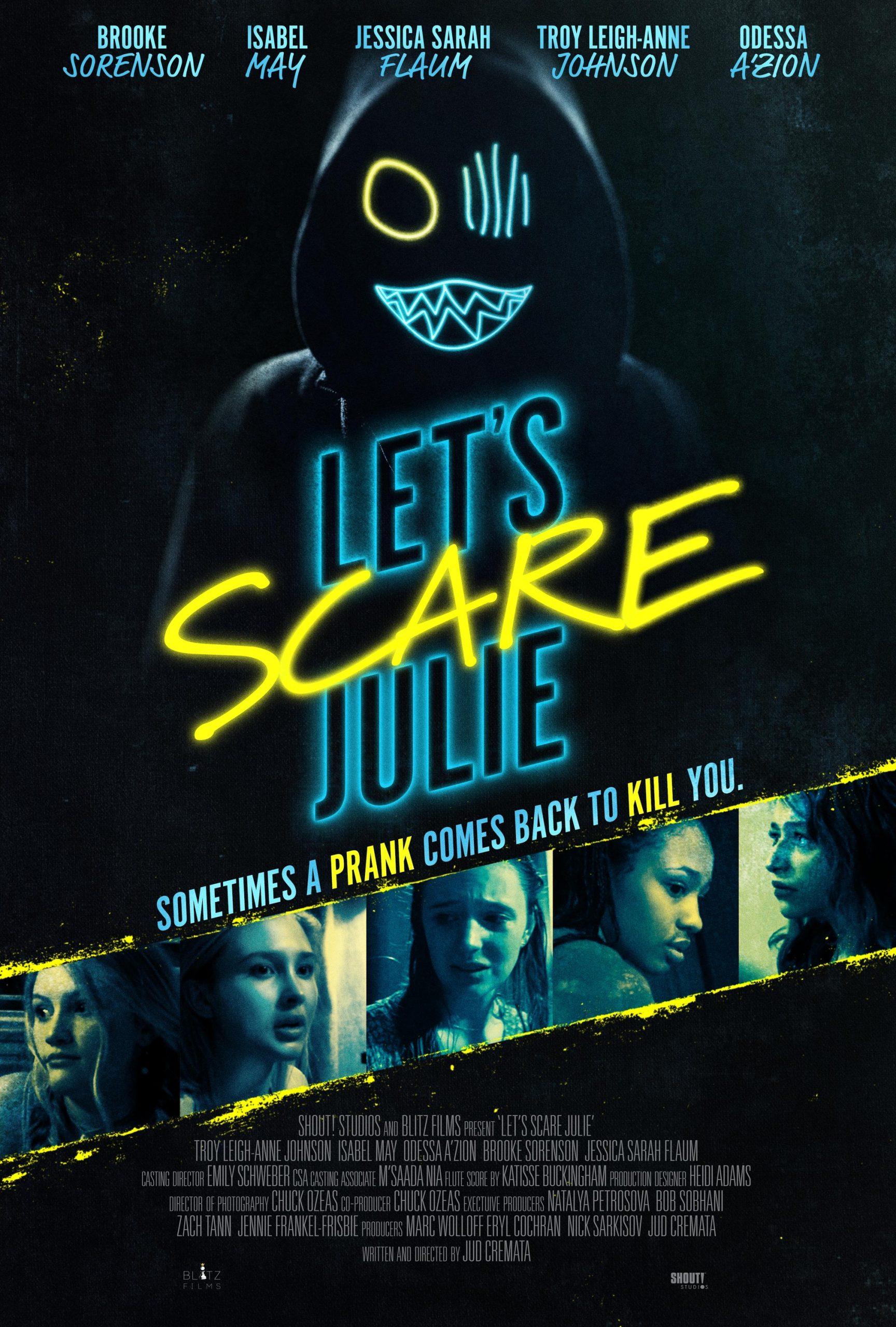 """Pegadinha de Halloween dá errado em """"Let's Scare Julie"""" - Veja Trailer e pôster"""