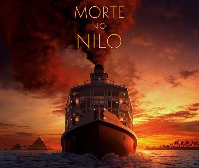 Morte no Nilo trailer e poster