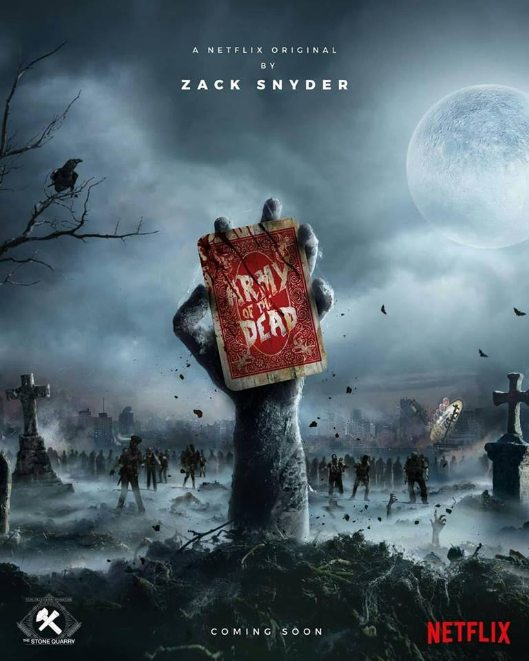poster Army of the Dead netflix anime series prequel