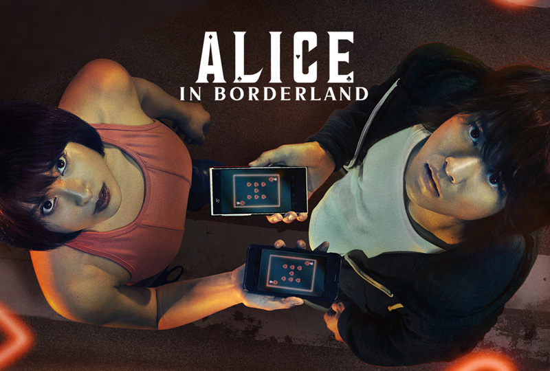 """Gamer é transportado para um jogo de vida ou morte em """"Alice in Borderland"""""""