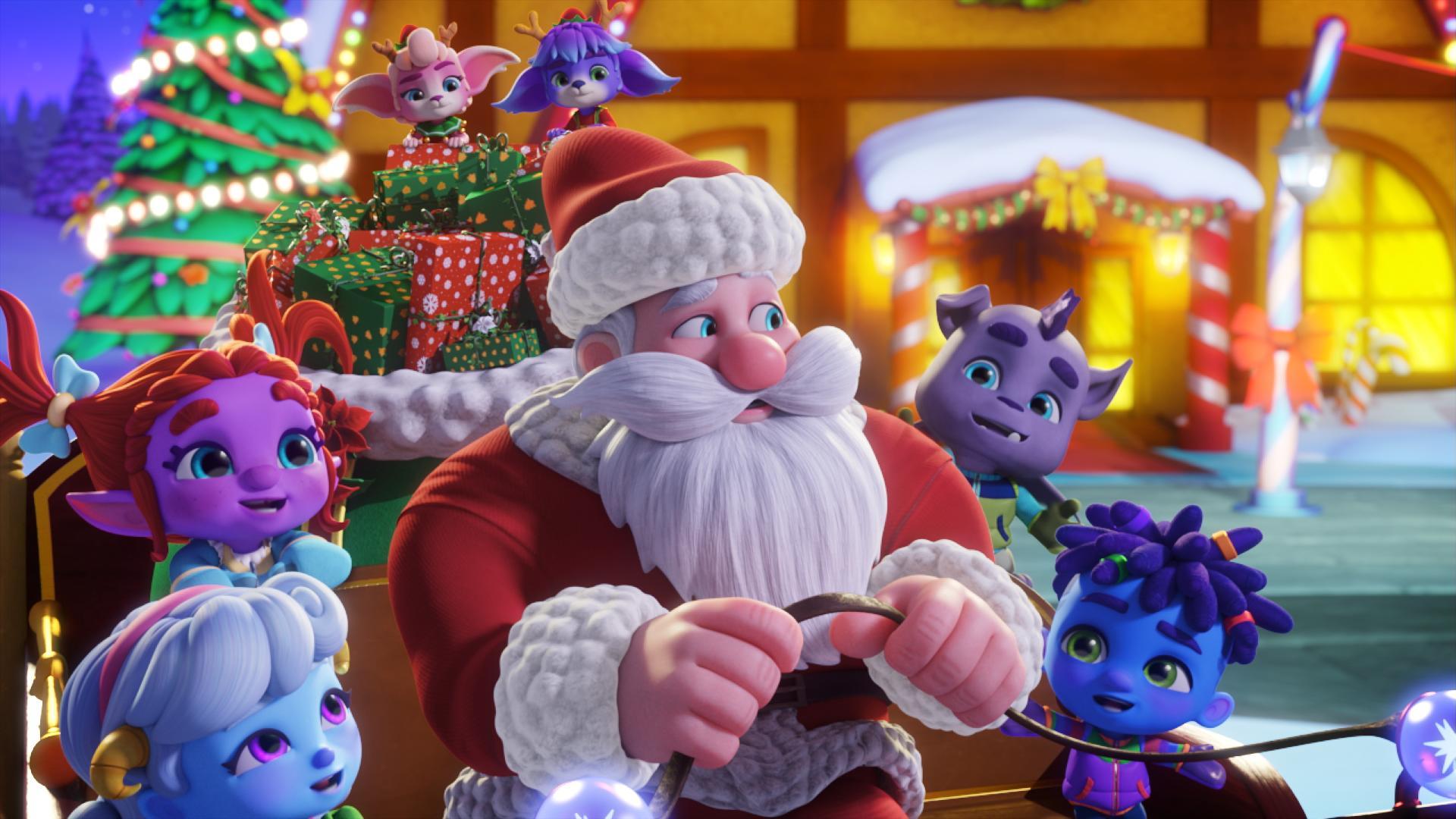 Super Monstros – Ajudando o Papai Noel
