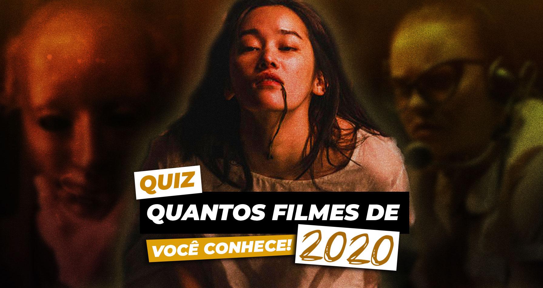 Quantos Filmes de Terror/Suspense de 2020 Você Conhece?