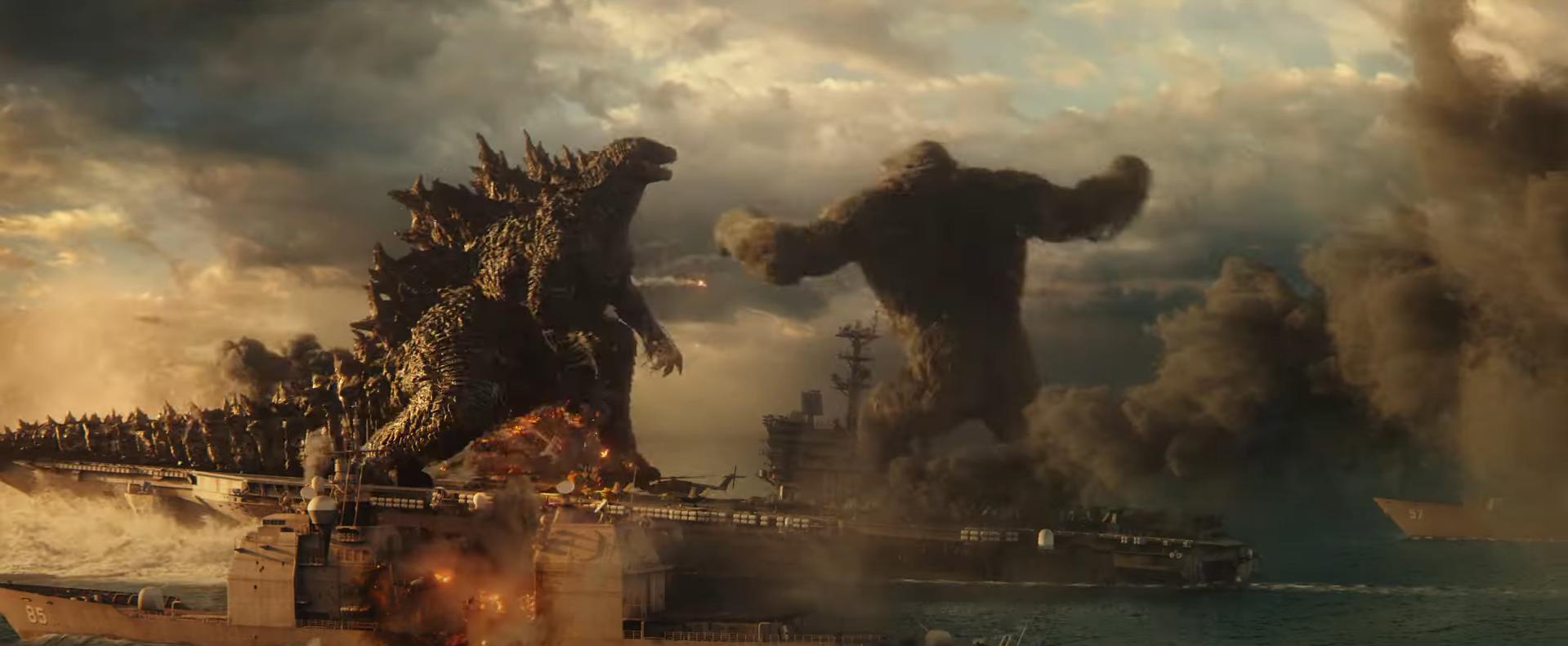 """Trailer de """"Godzilla vs. Kong"""" Tem Altas Tretas dos Gigantes"""