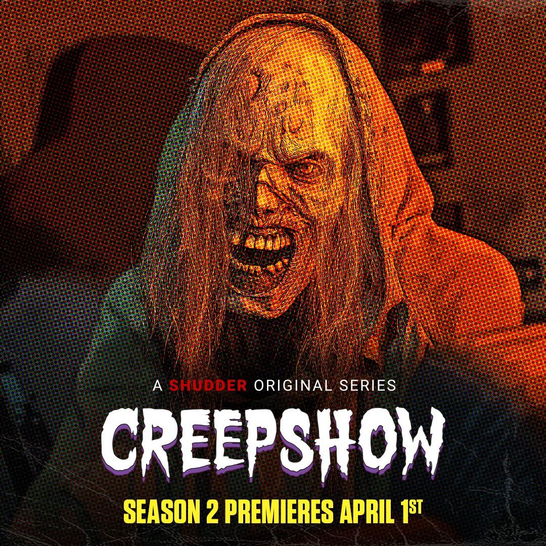 creepshow shudder série de terror segunda temporada