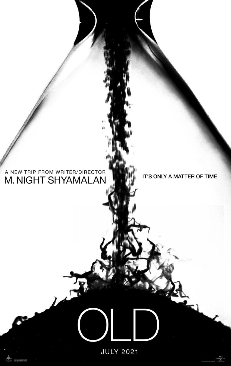 "Cena do Filme de Terror ""Old"" de M. Night Shyamalan"