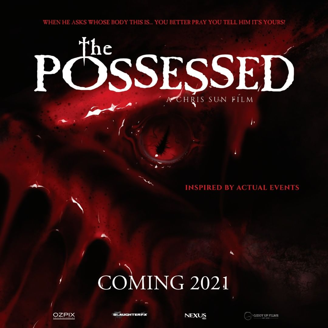 the possessed poster filme movie 2021
