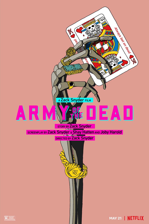 """""""Army Of The Dead: Invasão em Las Vegas"""" da Netflix Ganha novo Cartaz"""