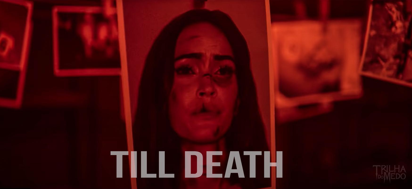 """Megan Fox aparece acorrentada a um corpo no trailer de """"Till Death"""""""